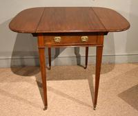 George III Mahogany Pembroke Table Drawer (2 of 6)