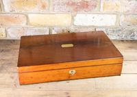 Large Flamed Mahogany Collectors Box 1880 (6 of 8)