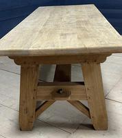 Scandinavian Style Bleached Oak Farmhouse Table (9 of 14)
