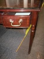 Three Drawer Mahogany Writing Desk (2 of 2)