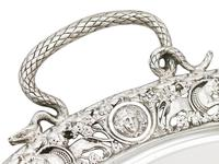 Sterling Silver Tea Tray by Mappin & Webb Ltd - Antique Victorian 1894 (4 of 12)