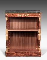 Regency Period Rosewood Gilt Side Cabinet (4 of 6)