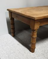 Faux Bamboo Pine Coffee Table (4 of 7)