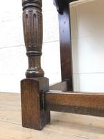 Early 20th Century Antique Oak Side Table (7 of 10)