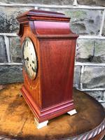 Antique Inlaid Mahogany Bracket Clock (3 of 8)