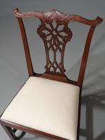 Well Carved Set of 6 George III Chippendale Period Mahogany Chairs (3 of 5)
