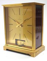 Rare 1960's Jaeger Lecoultre Atmos Mantel Clock – Swiss Made Model VII Red 1967 (10 of 13)