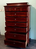 Danish Antique Mahogany Chest of Drawers (3 of 8)