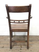 Antique 19th Century Welsh Oak Farmhouse Chair (10 of 10)