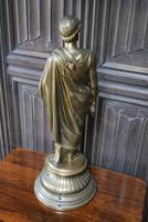 Grand Tour Gilt Bronze Roman Scholar (6 of 6)