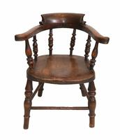 Set of Antique Child Chairs Chippendale Queen Anne (12 of 16)