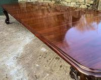Very Large Victorian Extending Dining Table in Mahogany (11 of 17)