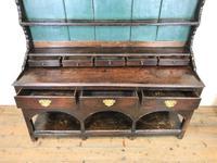 Antique 18th Century Joined Oak Dresser (4 of 10)