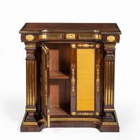 Pair of Regency Brass Inlaid Rosewood Side Cabinets (2 of 17)