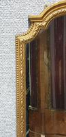 Good English Gilt Arched Top Mirror (4 of 6)