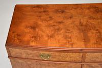 Antique Burr Walnut Two Door Cabinet (3 of 8)