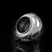 Antique Solid Silver Japanese Condiment Pot / Bowl - Meiji c.1900 (7 of 14)