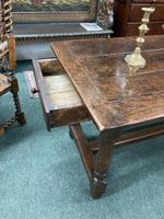 18th Century Oak Farmhouse Dining or Kitchen Table (4 of 7)