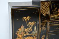 Art Deco Lacquered Chinoiserie Drinks Cabinet / Sideboard (12 of 16)