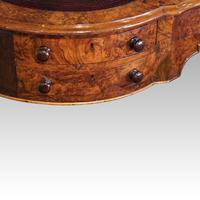Victorian Inlaid Walnut Kidney Desk (10 of 14)