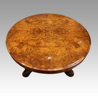 Victorian Large Walnut Coffee Table (6 of 10)