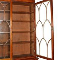 Georgian Mahogany Breakfront Bookcase (3 of 6)