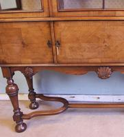 Quality Antique Walnut Display Cabinet (15 of 19)