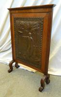 Arts & Crafts fire screen (2 of 5)