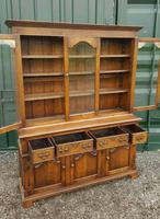 Superb Quality Solid Handmade English Oak Bookcase (2 of 8)