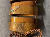 Antique Edo Japanese Inro, Netsuke & Ojime - Kansai and Jokosai (20 of 20)