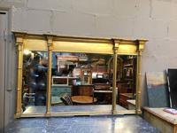 C19th Gilt Overmantel Mirror (13 of 14)