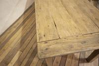 Large Scale 19th Century French Sycamore & Oak Farmhouse Table & Benches (14 of 19)