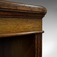 Large Antique Library Bookcase, Scottish, Oak, Bookshelf, Cabinet, Victorian (8 of 12)