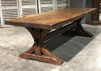 Huge Rustic Chestnut French Farmhouse Dining Table (3 of 27)