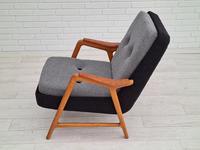 Danish Design, 60s, Completely Restored Armchair, Furniture Wool (13 of 16)