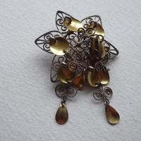 Norway Solje Brooch .830 Silver (2 of 5)