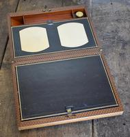 Fine Victorian Leather Writing Slope (6 of 6)
