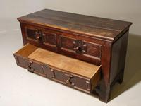 Unusual Late 17th Century Continental Oak & Walnut Chest of Drawers (3 of 4)