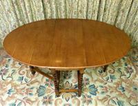 Vintage Barley Twist Gateleg Dining Table (2 of 6)