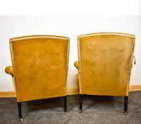 Napoleon III Pair of His & Hers Club Chairs (2 of 8)