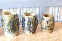 Scottish Pottery Slipware Barrel Storage Jars x4 (15 of 35)