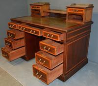 Mahogany Pedestal Desk (5 of 5)