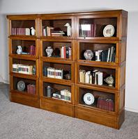Three Stacking Bookcases In Light Oak Composed 4 Element-20th Century-france (10 of 11)