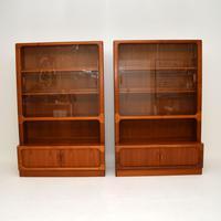 Pair of Danish Vintage Teak Bookcases by Dyrlund (3 of 12)