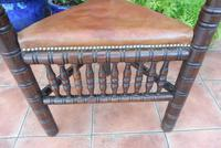 Country Oak Turners Chair c.1860 (2 of 11)