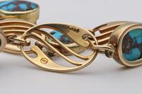 Murrle Bennett Turquoise 15ct Gold Bracelet (2 of 2)