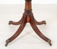 Regency Style Mahogany Pedestal Dining Table c.1920 (2 of 7)