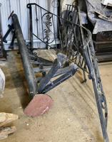 Unused Space Saver Iron Spiral Staircase with Hand Rails (6 of 12)