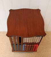 Edwardian Small Proportioned Low Mahogany Revolving Bookcase (10 of 10)