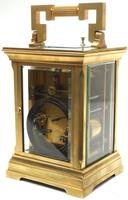 Superb Large Antique French 8-day Striking Carriage Repeat Feature Clock c.1880 (5 of 13)